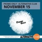 Promo Only Alternative Club November 2015
